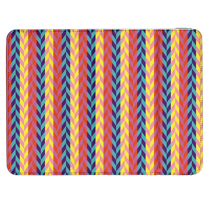 Colorful Chevron Retro Pattern Samsung Galaxy Tab 7  P1000 Flip Case