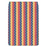 Colorful Chevron Retro Pattern Flap Covers (L)  Front