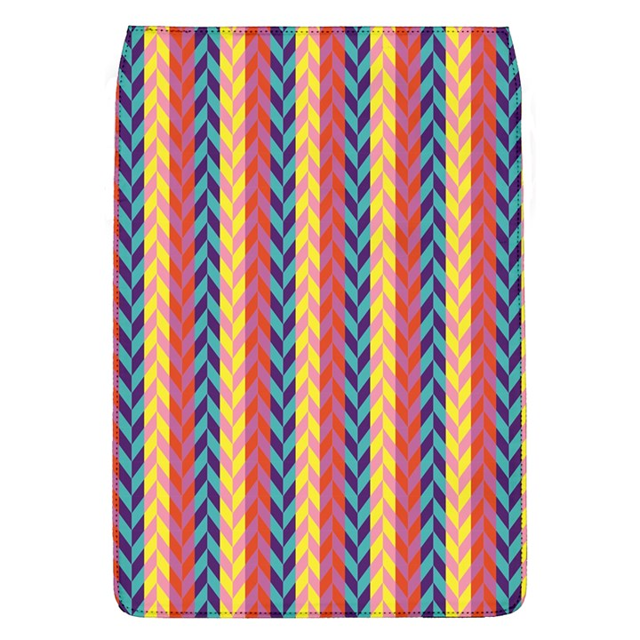 Colorful Chevron Retro Pattern Flap Covers (L)
