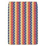 Colorful Chevron Retro Pattern Flap Covers (S)  Front