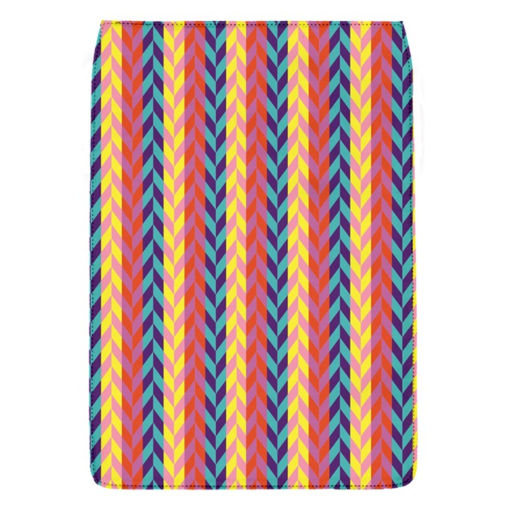 Colorful Chevron Retro Pattern Flap Covers (S)
