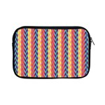 Colorful Chevron Retro Pattern Apple iPad Mini Zipper Cases Front