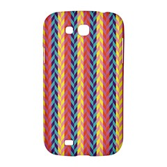 Colorful Chevron Retro Pattern Samsung Galaxy Grand GT-I9128 Hardshell Case