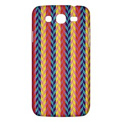 Colorful Chevron Retro Pattern Samsung Galaxy Mega 5.8 I9152 Hardshell Case