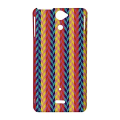 Colorful Chevron Retro Pattern Sony Xperia V