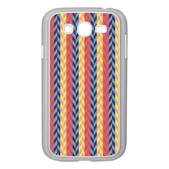 Colorful Chevron Retro Pattern Samsung Galaxy Grand Duos I9082 Case (white)