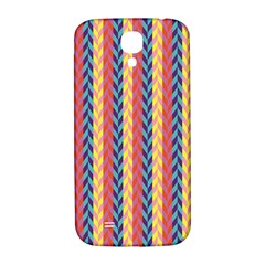 Colorful Chevron Retro Pattern Samsung Galaxy S4 I9500/i9505  Hardshell Back Case