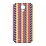 Colorful Chevron Retro Pattern Samsung Galaxy S4 I9500/I9505  Hardshell Back Case Front