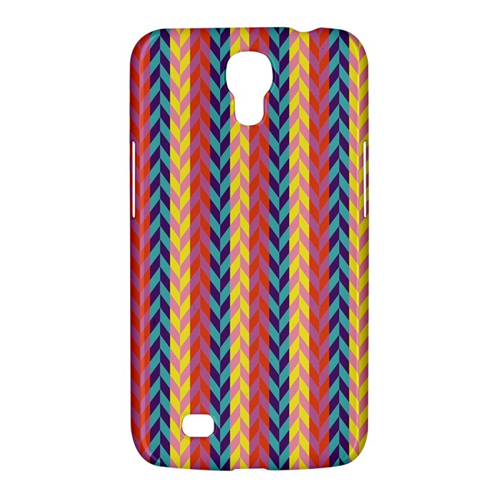 Colorful Chevron Retro Pattern Samsung Galaxy Mega 6.3  I9200 Hardshell Case