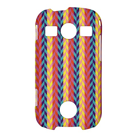 Colorful Chevron Retro Pattern Samsung Galaxy S7710 Xcover 2 Hardshell Case