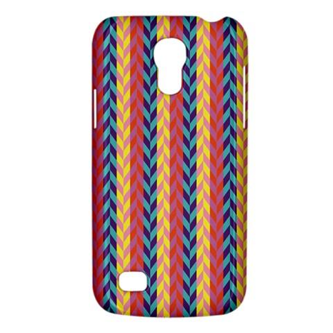 Colorful Chevron Retro Pattern Galaxy S4 Mini