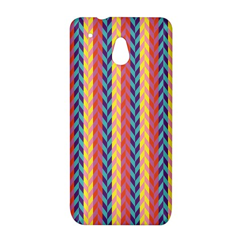 Colorful Chevron Retro Pattern HTC One Mini (601e) M4 Hardshell Case