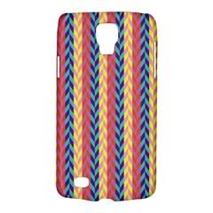 Colorful Chevron Retro Pattern Galaxy S4 Active