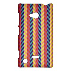 Colorful Chevron Retro Pattern Nokia Lumia 720