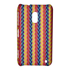 Colorful Chevron Retro Pattern Nokia Lumia 620