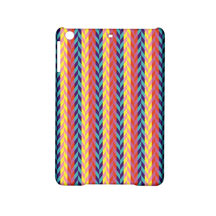 Colorful Chevron Retro Pattern iPad Mini 2 Hardshell Cases