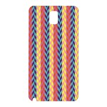 Colorful Chevron Retro Pattern Samsung Galaxy Note 3 N9005 Hardshell Back Case Front