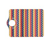 Colorful Chevron Retro Pattern Kindle Fire HD (2013) Flip 360 Case Front