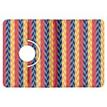 Colorful Chevron Retro Pattern Kindle Fire HDX Flip 360 Case Front