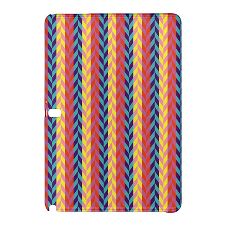 Colorful Chevron Retro Pattern Samsung Galaxy Tab Pro 10.1 Hardshell Case