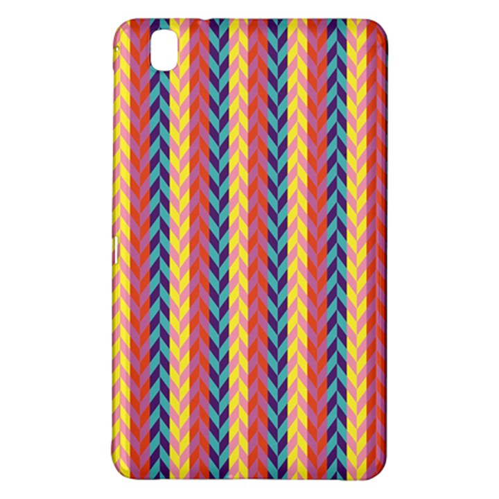 Colorful Chevron Retro Pattern Samsung Galaxy Tab Pro 8.4 Hardshell Case