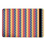 Colorful Chevron Retro Pattern Samsung Galaxy Tab Pro 10.1  Flip Case Front