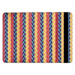Colorful Chevron Retro Pattern Samsung Galaxy Tab Pro 12.2  Flip Case Front