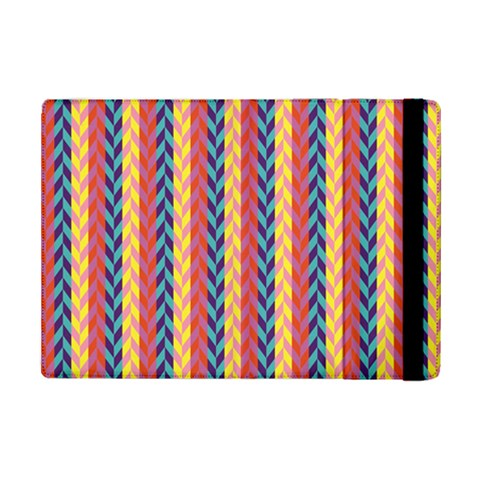 Colorful Chevron Retro Pattern iPad Mini 2 Flip Cases