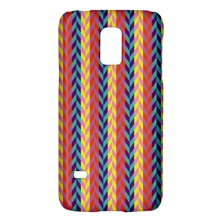 Colorful Chevron Retro Pattern Galaxy S5 Mini