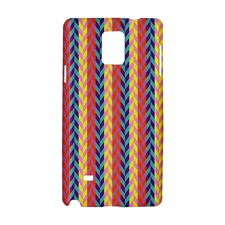 Colorful Chevron Retro Pattern Samsung Galaxy Note 4 Hardshell Case