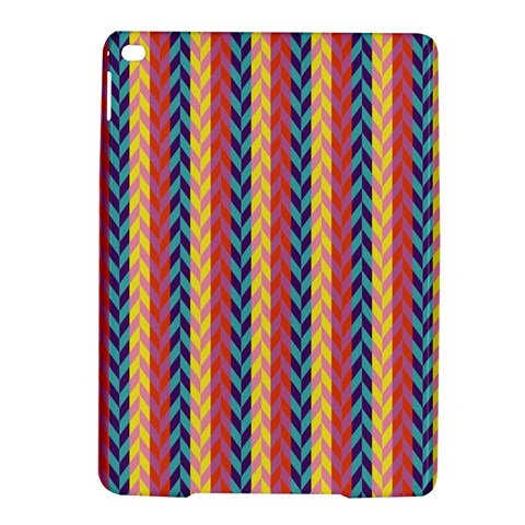 Colorful Chevron Retro Pattern iPad Air 2 Hardshell Cases