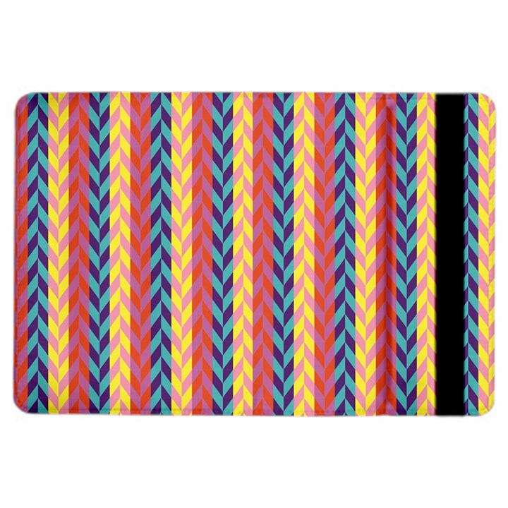 Colorful Chevron Retro Pattern iPad Air 2 Flip