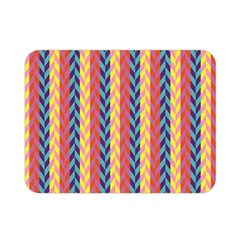 Colorful Chevron Retro Pattern Double Sided Flano Blanket (Mini)