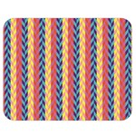 Colorful Chevron Retro Pattern Double Sided Flano Blanket (Medium)  60 x50 Blanket Front