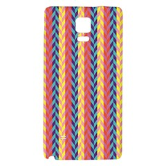 Colorful Chevron Retro Pattern Galaxy Note 4 Back Case
