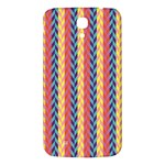 Colorful Chevron Retro Pattern Samsung Galaxy Mega I9200 Hardshell Back Case Front