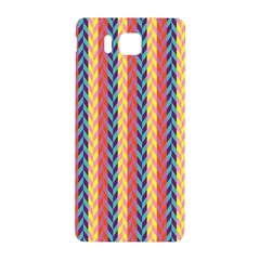 Colorful Chevron Retro Pattern Samsung Galaxy Alpha Hardshell Back Case