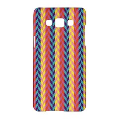 Colorful Chevron Retro Pattern Samsung Galaxy A5 Hardshell Case