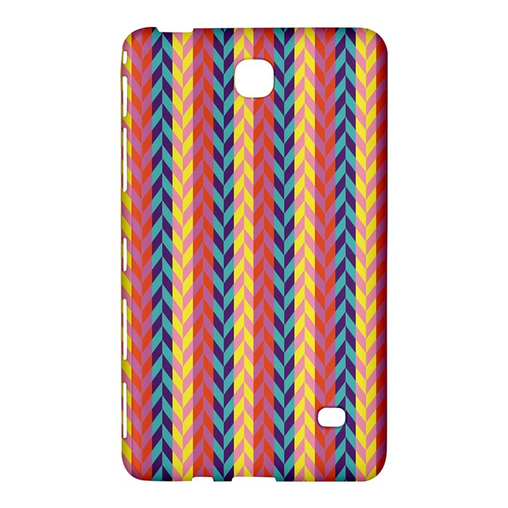 Colorful Chevron Retro Pattern Samsung Galaxy Tab 4 (8 ) Hardshell Case