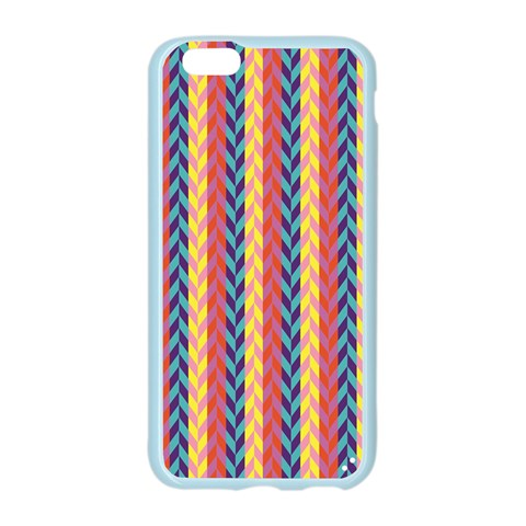 Colorful Chevron Retro Pattern Apple Seamless iPhone 6/6S Case (Color)