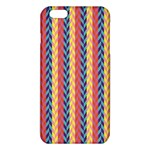 Colorful Chevron Retro Pattern iPhone 6 Plus/6S Plus TPU Case Front