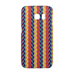 Colorful Chevron Retro Pattern Galaxy S6 Edge