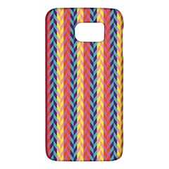 Colorful Chevron Retro Pattern Galaxy S6