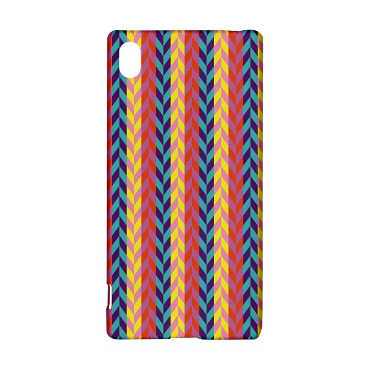 Colorful Chevron Retro Pattern Sony Xperia Z3+