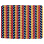 Colorful Chevron Retro Pattern Jigsaw Puzzle Photo Stand (Rectangular) Front