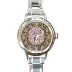 Panic! At The Disco Round Italian Charm Watch Front