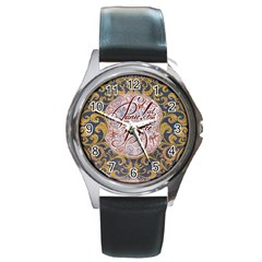 Panic! At The Disco Round Metal Watch