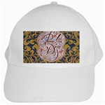 Panic! At The Disco White Cap Front