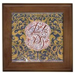 Panic! At The Disco Framed Tiles Front