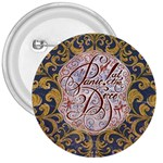 Panic! At The Disco 3  Buttons Front